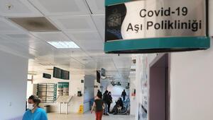 Tuncelide koronavirüs aşı uygulama odaları hazır