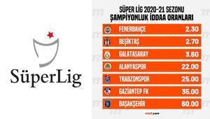 Süper Ligde şampiyonluk oranları güncellendi Fenerbahçeye verilen iddaa oranı...