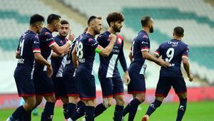 Bursaspor - Antalyaspor maçının fotoğrafları