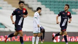 Bursaspor 0 - 3 Antalyaspor / Maç özeti ve golleri