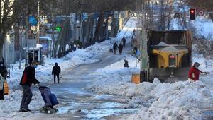 İspanyada son 20 yılın en sert kışı yaşanıyor