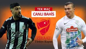 Beşiktaş derbi öncesi kupa virajında Rizespor karşısında galibiyetlerine iddaada...