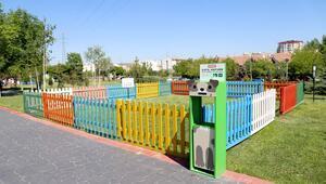 Parklarda özel alan