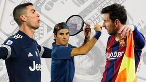 'Sponsor Ligi'nin şampiyonu Roger Federer: 89 milyon dolar