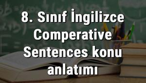 8. Sınıf İngilizce Comperative Sentences (Karşılaştırma Cümleleri) konu anlatımı