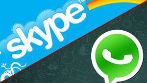 Microsoft: WhatsAppı bırak Skype kullan