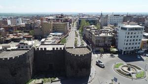Diyarbakırın 106 bin nüfuslu Sur ilçesinde pozitif vaka sıfırlandı