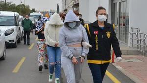 Adanada fuhuş çetesine operasyon Çok sayıda gözaltı