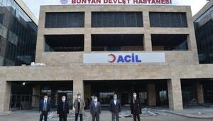 İl Sağlık Müdürü Benli, Bünyan Devlet Hastanesini inceledi