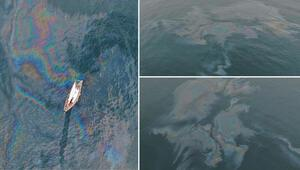 Marmara Denizinde skandal görüntü