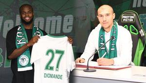 Konyaspor, Ertuğrul Tekşen ve Ismail Diomande transferlerini açıkladı