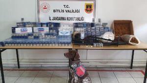 Bitliste kaçak sigara operasyonu: 3 gözaltı