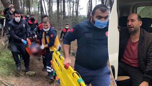 Kartalda ormanlık alanda kan donduran olay Polis memuru hayatını kaybetti
