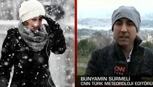 İstanbula kar ne zaman geliyor Ayın 21ine kadar soğuk hava ile beraberiz