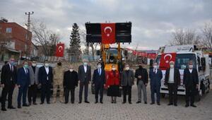 Ergani Belediyesinde araç filosu genişletildi