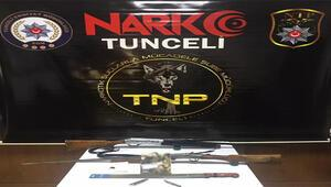 Tunceli'de torbacı operasyonu: 9 gözaltı