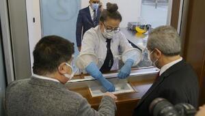 Türkiyenin ilk Akıllı Covid 19 Test Merkezi açıldı