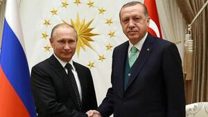 Cumhurbaşkanı Erdoğan ile Putinden Dağlık Karabağ görüşmesi