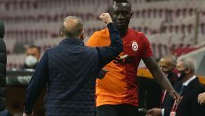 Galatasarayın golcüsü Diagne gördüğü rüyayı açıkladı Fatih Terim ile üç kupa...
