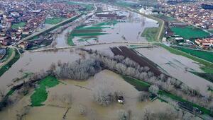 Edirne barajlarında son durum.. Sağanak kuraklık tehlikesi yaşayan Edirnede barajları doldurdu
