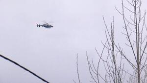 Asılsız Helikopter düştü ihbarı ekipleri harekete geçirdi