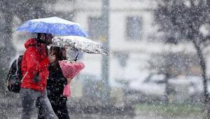 Ankarada kar kenti beyaza bürüdü Bugün kar yağacak mı MGM 14 Ocak İstanbul, Ankara, İzmir ve il il hava durumu tahminleri