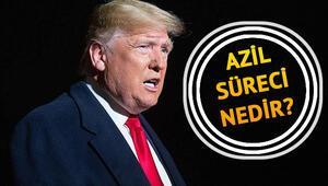 Azil kararı nedir Azil kararı ABD Başkanı Trumpla gündeme geldi -  İşte TDKda Azil kelimesinin anlamı