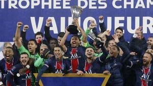 PSG, Marsilyayı yenerek Fransa Süper Kupasını kazandı