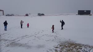 Karabük Keltepe Kayak Merkezi yılın ilk karı ile buluştu