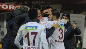 Hatayspor sahasında yenilgisiz 9 maçta 18 puan...