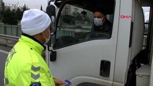Kış lastiği denetiminde ceza kesilen sürücünün mazereti işe yaramadı