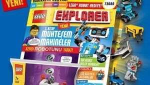 Lego hayranlarına yeni dergi