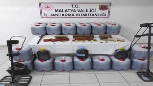 Malatyada 481 litre kaçak içki ele geçirildi