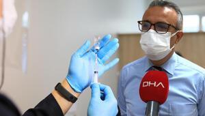 Bilim Kurulu üyesi Prof. Dr. Hasan Tezerden aşı açıklaması