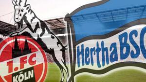 Köln, Hertha maçı can yakacak...