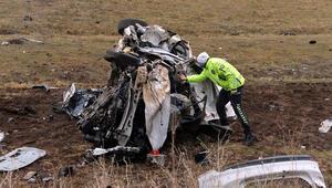 Bingölde feci kaza 1 ölü 2 yaralı