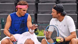Nadal, Avustralya Açıkta antrenörü Moya olmadan ter dökecek
