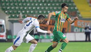 Alanyaspor, Türkiye Kupasında çeyrek finalde BB Erzurumspor karşısında 4 gollü geri dönüş