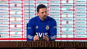Fenerbahçe Teknik Direktörü Erol Bulut açıklamalarda bulundu