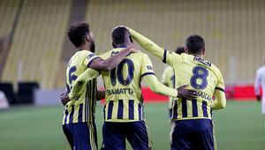 Fenerbahçede Samatta 103 gün sonra gol attı