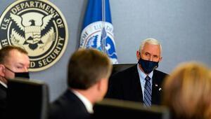 ABD Başkan Yardımcısı Pence, Bidenın yemin töreni için güvenlik önlemlerini denetledi