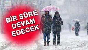 İstanbulda kar yağışı kaç gün sürecek Meteoroloji açıkladı
