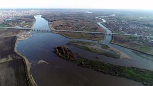 Kanal Edirne, Meriç Nehrinde olası taşkını önledi