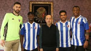 Ankaraspor 4 yeni transfer açıkladı Real Madrid altyapısında yetişen...