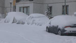 Hakkaride köy ve mezra yolları kapandı; kar kalınlığı 30 santim oldu