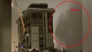 İtalyada çığ felaketi kameralara anbean yansıdı...