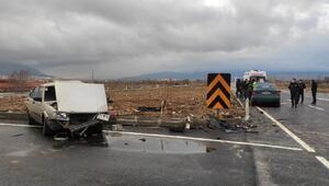Kazada iki sürücü yaralandı