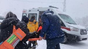 Zonguldak-İstanbul karayolunda yolcu otobüsü devrildi Yaralılar var