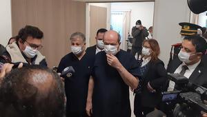 KKTCde ilk koronavirüs aşısı Cumhurbaşkanı Tatar'a yapıldı