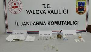 Jandarma ekiplerinden uyuşturucu operasyonu: 1 gözaltı